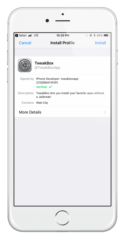 TweakBox iOS 12 - iOS 12 4 Download