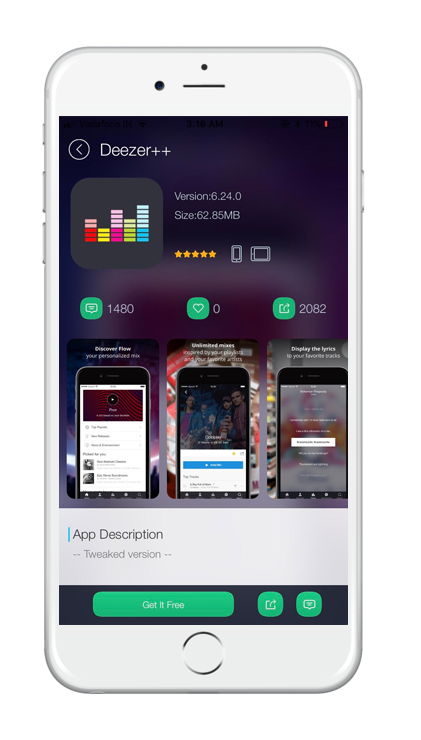Deezer-Screenshot