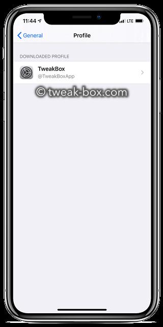 tweak box profile iphone 11 pro