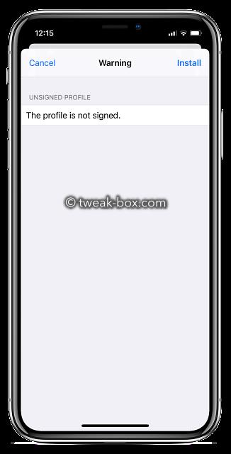 tweakdoor profile install