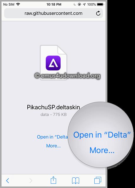 delta-emulator -skin