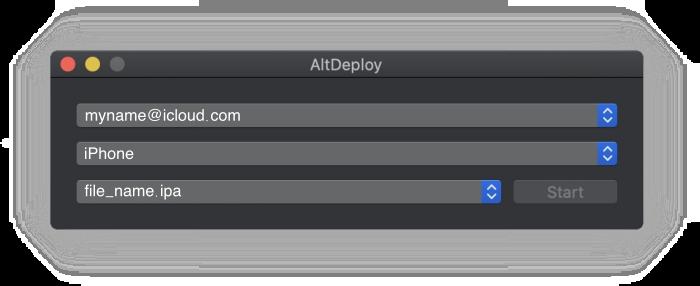 AltDeploy app mac