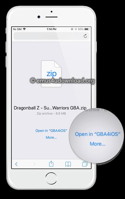 gba4ios_roms app